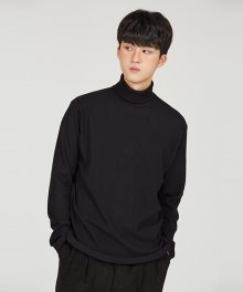 G TURTLENECK [BLACK]