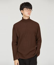 G TURTLENECK [BROWN]