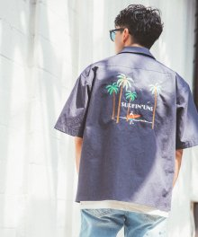SURFIN` UNS SHIRTS_NAVY