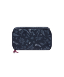위크에이드(WEEKADE) BOTANICAL BEAUTY POUCH DAILY_Navy garden