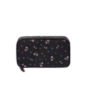 위크에이드(WEEKADE) BOTANICAL BEAUTY POUCH DAILY_Black flower