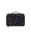 위크에이드(WEEKADE) BOTANICAL BEAUTY POUCH TRAVEL_Black flower