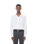 Rack9 open cara shirt (White)
