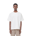 Lts cushion half T-shirt (White)
