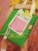 딤에크레스(DIM. E CRES) CLIP ECO BAG GREEN