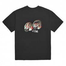 COMI NEON ADULT ENOUGH T-SHIRT (BLACK)