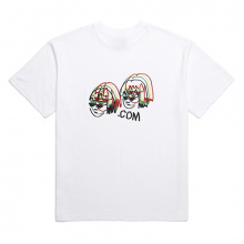 COMI NEON ADULT ENOUGH T-SHIRT (WHITE)