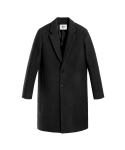 벨리에(BELIER) Semi Oversized Single Coat - Black