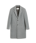 벨리에(BELIER) Semi Oversized Single Coat - M.Grey