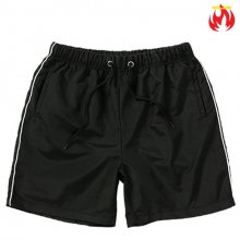 Nylon Hellvn Man Swim Pants - Black