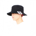 주스토(JUSTO) LABEL BUKET HAT[BLACK]