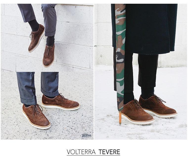 볼테라(VOLTERRA) VOLTERRA TEVERE BROWN (V1408)