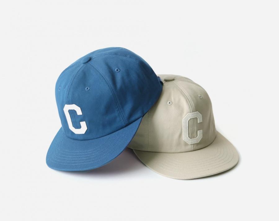 커버낫(COVERNAT) TWILL C LOGO B.B CAP BEIGE