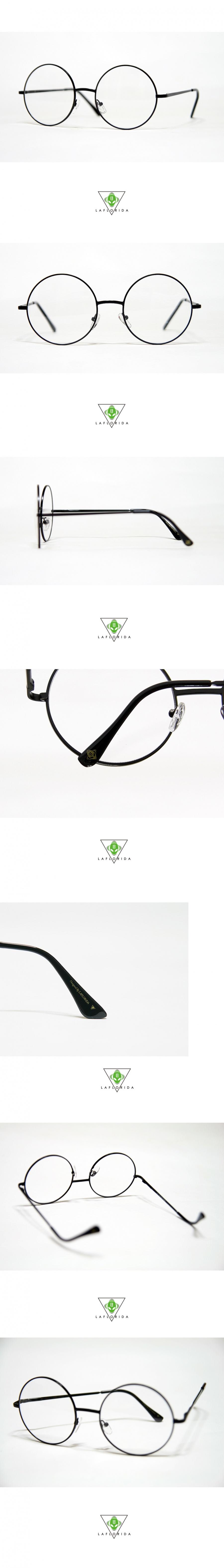 라플로리다(LAFLORIDA) [라플로리다] 산타 블랙 glasses
