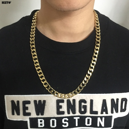 [섹스토] (변색x)M-3 chain necklace(gold)