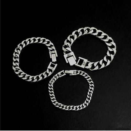 [섹스토] (변색x)M-5 chain bracelet(vintage silver)