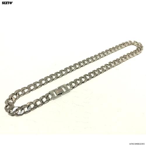 [섹스토] (변색x)M-5 chain necklace(silver)
