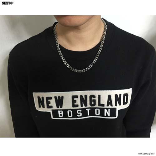 [섹스토] (써지컬스틸)S-2 chain necklace