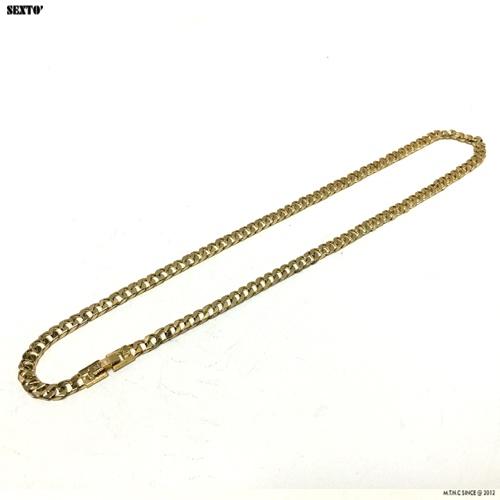 [섹스토] (변색x)M-1 chain necklace(gold)