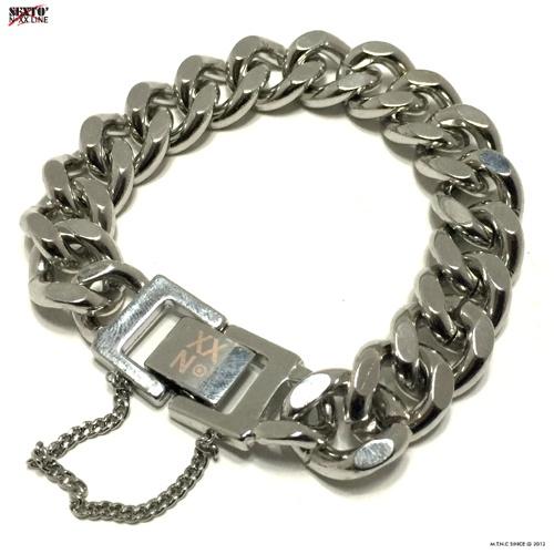 [섹스토] W-05 chain bracelet(silver)