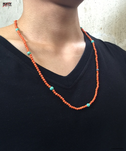 [섹스토] I.D necklace Orange