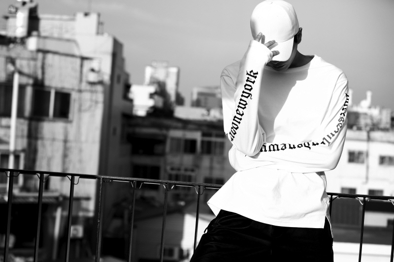 아타르(ATAR) [SET 1+1]psln longsleeve T-shirt black/white