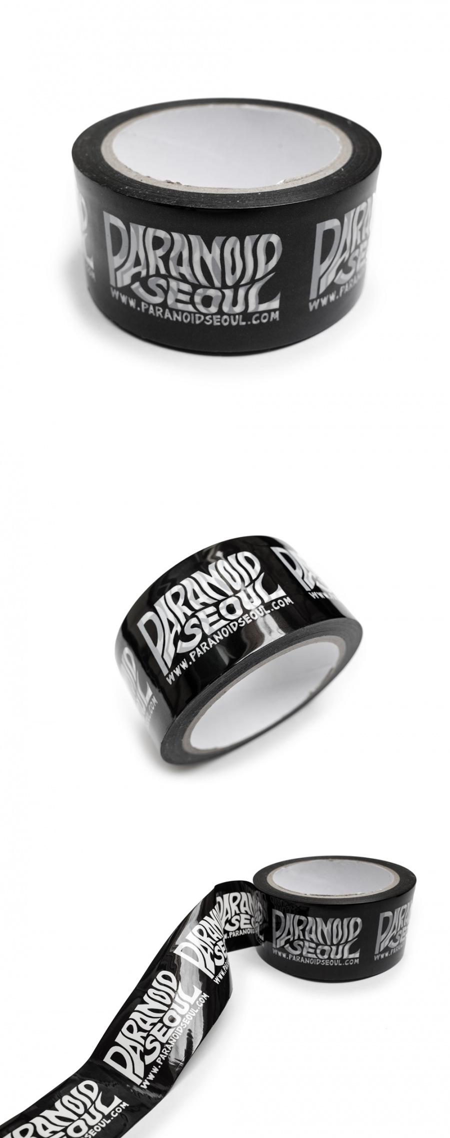 파라노이드(PARANOID) 박스테이프 + 스티커 세트