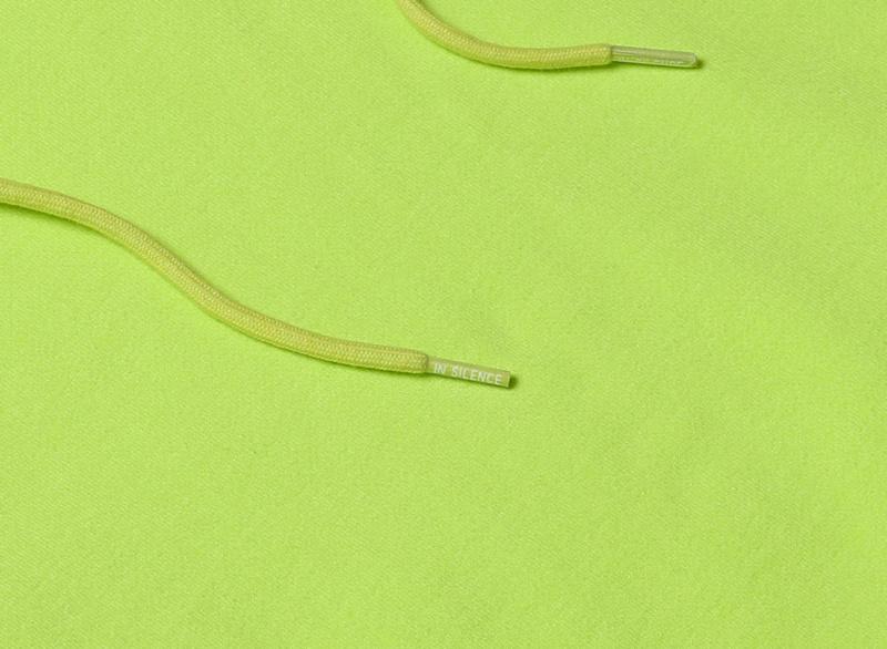 인사일런스(INSILENCE) Darkland Hoodie (Yellow Green)