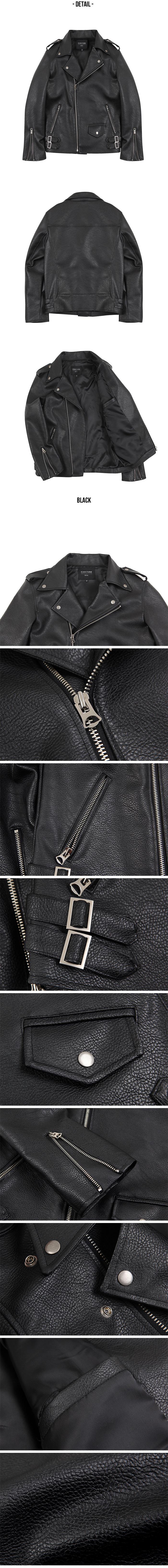 이에스엔(ESN) 클래식 레더 자켓