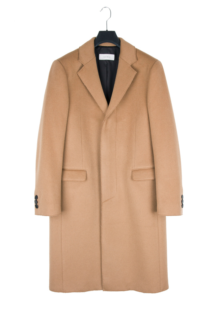 토니웩(TONYWACK) Crudo Cashmere Cutting Coat _ Camel