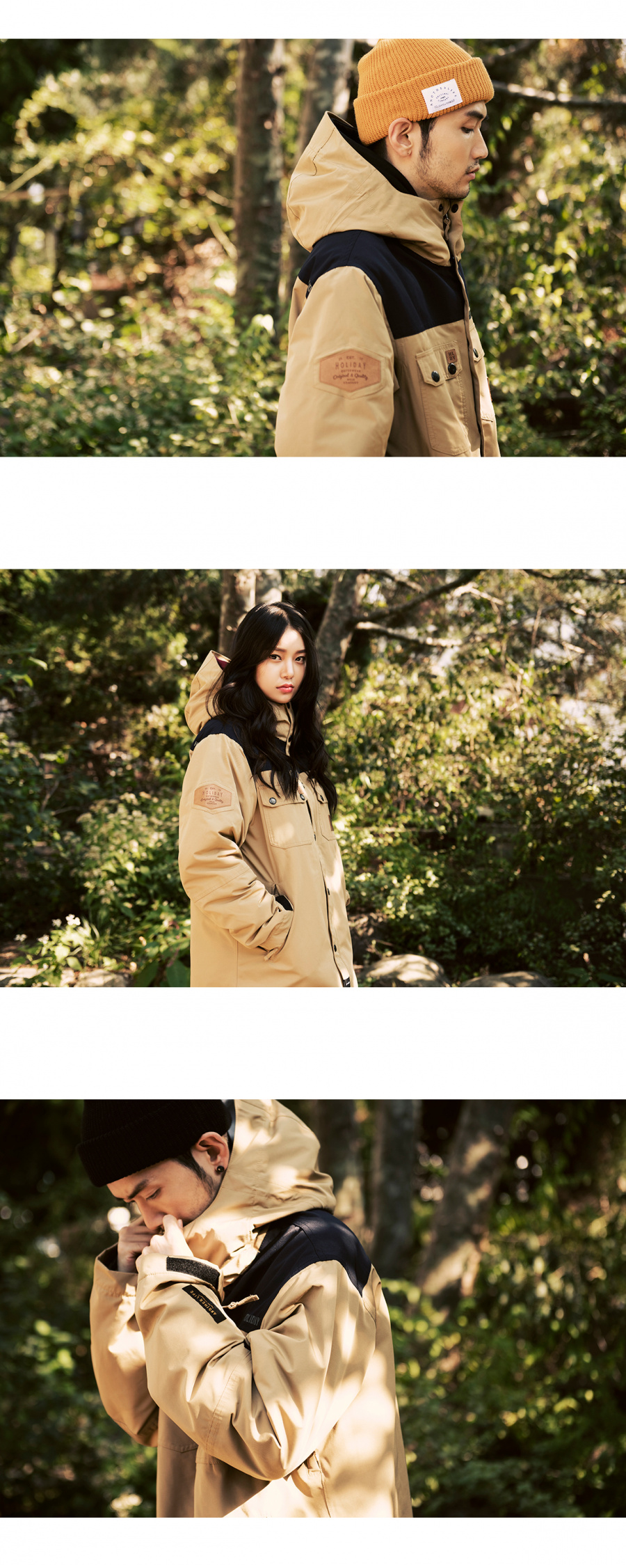 홀리데이 아우터웨어(HOLIDAY OUTERWEAR) TYPE-NT jacket - beige