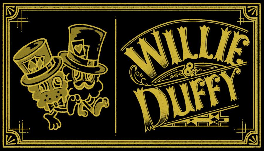 윌리앤더피(WILLIE and DUFFY) 라운드 오닉스반지 Thick ver. (실버925)(핸드메이드)