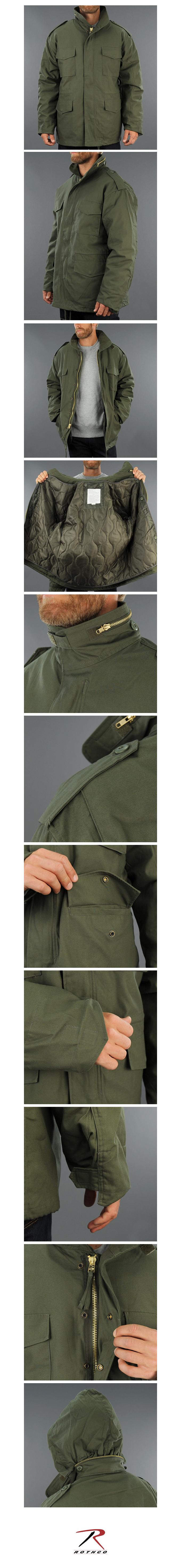 로스코(ROTHCO) [국내배송] M-65 FIELD JACKET(OLIVE)