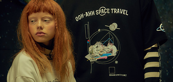 OOHAHH 17 F/W 'SPACE TRAVEL'