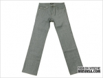 grey non washed denim