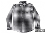 2010 S/S COLLECTION COZY LOGO POINT CHECK SHIRT