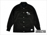 Crack Coach Jacket Black