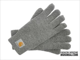 Base Gloves Dark Grey Heather