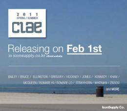 Releasing Clae 2011 S/S