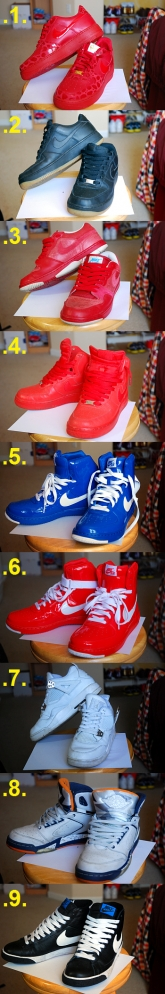 NIKE Shoes Collection.