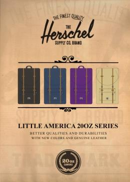 Herschel 2011 F/W LITTLE AMERICA 20oz