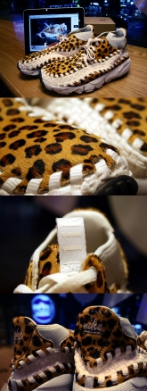 air footscape woven (leopard & zebra)