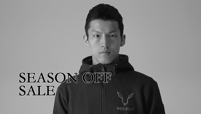 [WOLFAN] SEASON OFF SALE 안내.