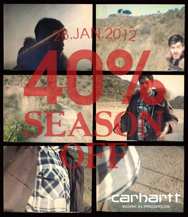 [Carhartt WIP] 40% SEASON OFF 안내