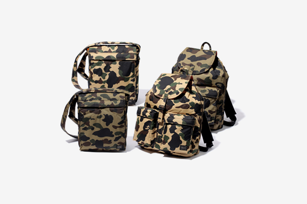 A Bathing Ape x Porter Camo Bag Collection