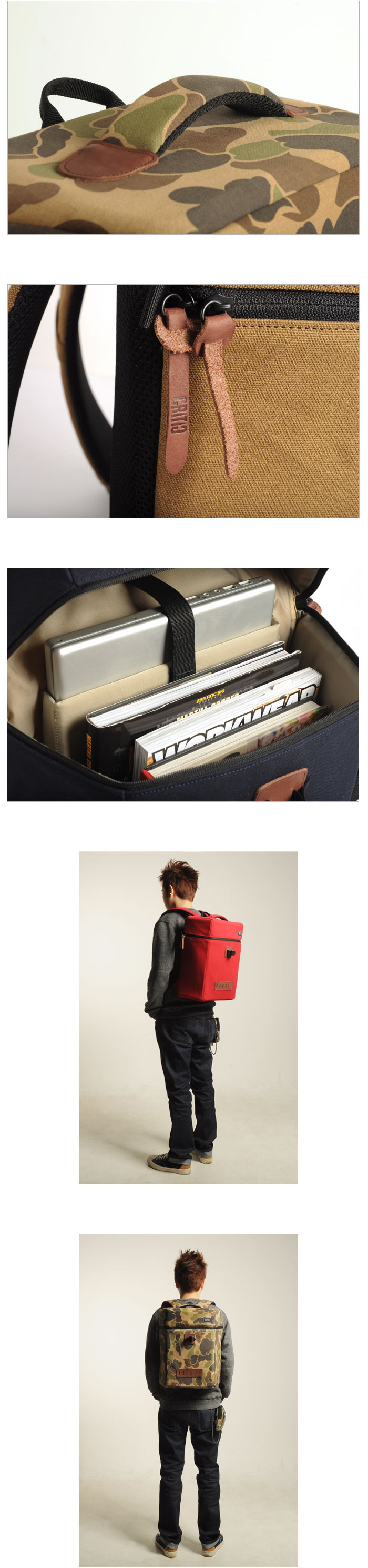 [CRITIC] 2012 Backpack line up ~! 발매 소식!