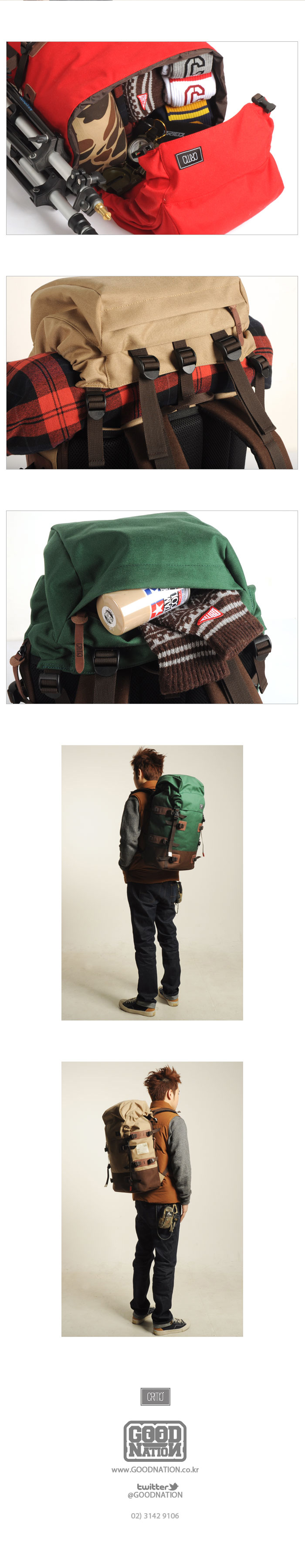 Critic [CRITIC] 2012 Backpack line up ~! 발매 소식!