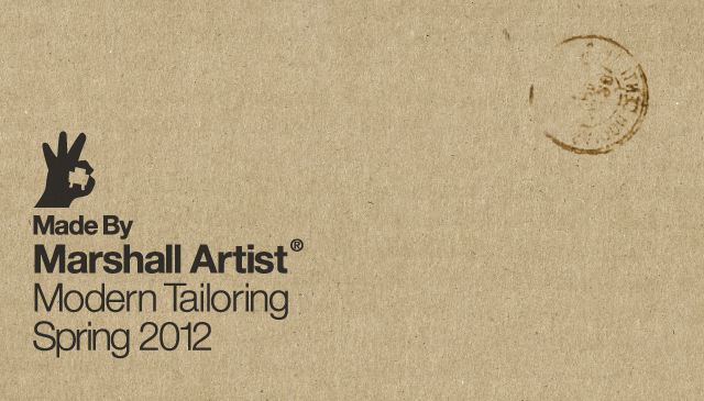 marshall artist 2012 spring 입고