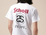 Stussy for Schott 100 