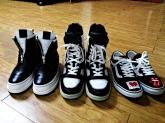 3,4월달에 산 신발들이랑 티네요~